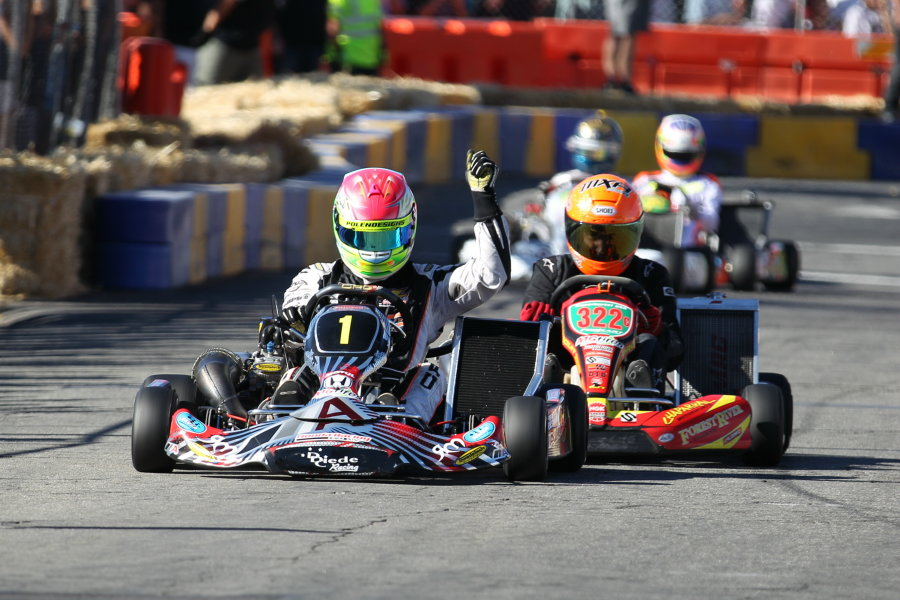 Defending race winner Fritz Leesmann held off the young Musgrave to conquer the S1 field (Photo: DromoPhotos.com)