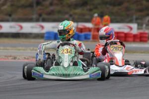 Rotax Senior pole winner, Charlie Eastwood (Timo Deck/RGMMC Media)