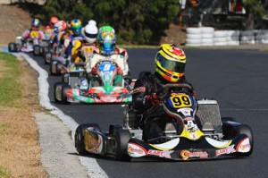 Paul Pittam scored the win the TaG 125 Heavy (AF Images/Budd)