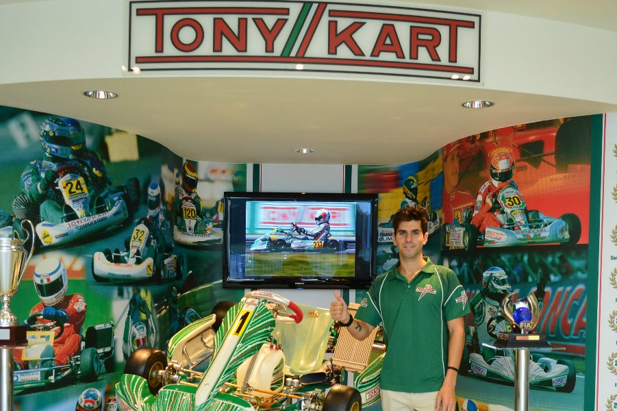 F1 driver Jamie Alguersuari is confirmed with Tony Kart for the September 22 event (Photo: Tony Kart)