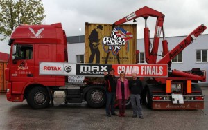 The logistics to host an event like the Rotax Grand Finals is massive, including 15 containers coming from Europe (Photo: rotax-kart.com)