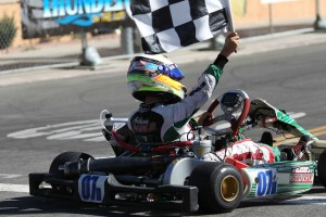 Anthony Gangi Jr. was the victor in TaG Junior at the Streets of Lancaster Grand Prix (Photo: dromophotos.com)