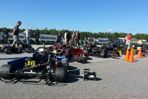 A full Senior Pro Gas Animal grid Sunday at Carolina Motorsports Park (Photo: NCRM)