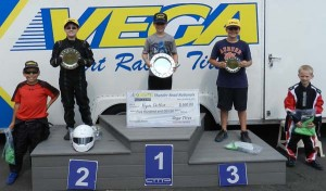 Yamaha Cadet had Ryan Detlor take the top spot of the podium