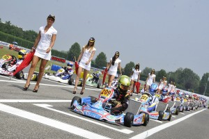 The 7 Laghi Circuit is preparing its starting line for the WSK Final Cup, final event of the 2013 WSK Karting Season