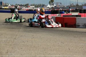Jake Craig behind the wheel in Fontana at the PRD Pan-Am Crown