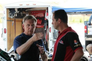 1978 Karting World Champion Lake Speed discusses his time aboard the DR Racing Kart with Danilo Rossi