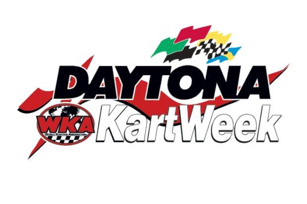 Daytona Kartweek WKA logo