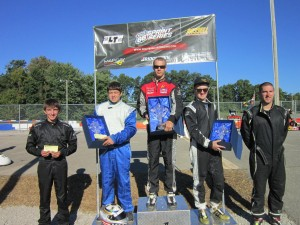 Ribtect Yamaha Senior Shootout top five, 4th - Collin Griffin, 2nd - Robby McQuinn, 1st - Justin Vancil, 3rd - Ben Hewitt, 5th - Eric Bartsch