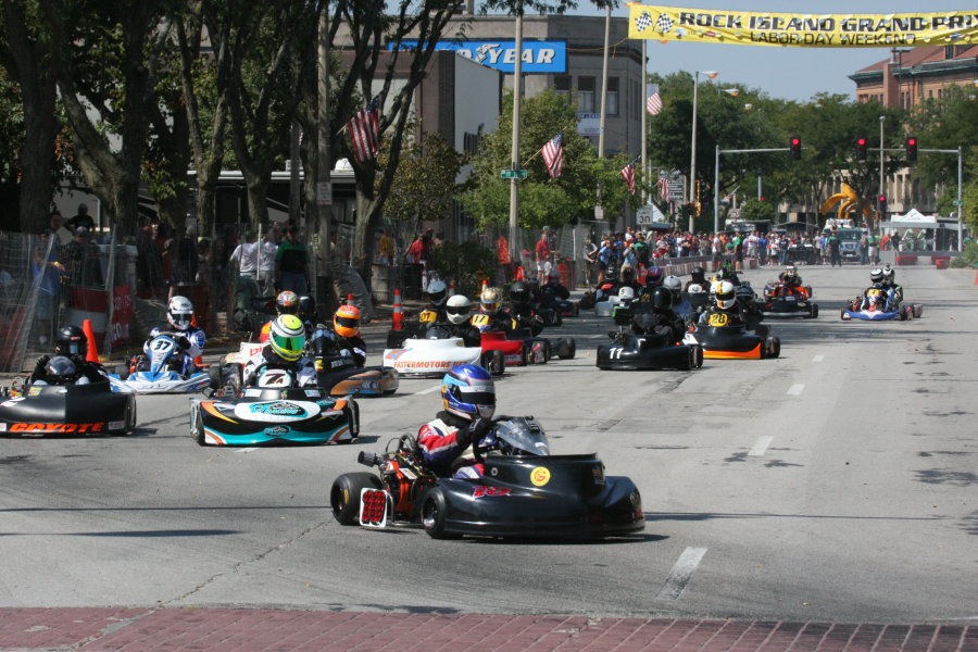 Briggs LO 206 racing continues to grow throughout the country
