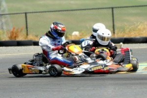 Tazio Ottis scored the win in Iame Junior and left with a GoPro. (Photo: www.dromophotos.com)