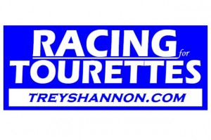 Racing for Tourettes logo