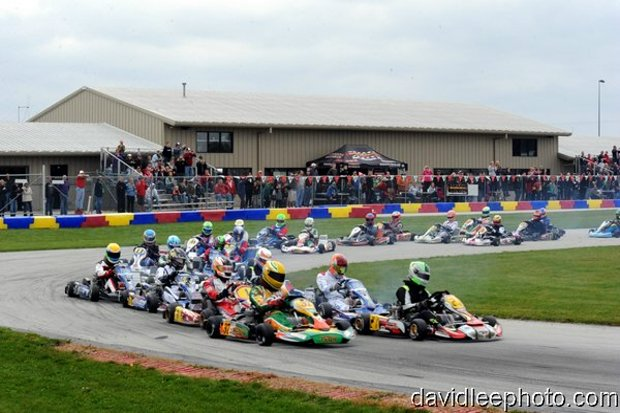 Over 40 teams will battle for 200 laps around the 1-mile New Castle Motorsports Park circuit