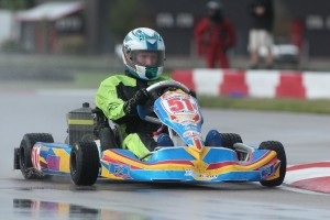 International driver Jack Weprin doubled up in the challenging Rotax Senior category (Photo: dreamscaptured.net)