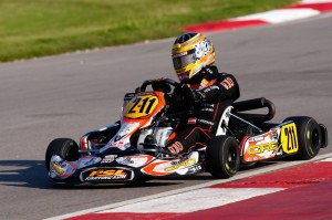 Thomas Preining of Austria is certain to be a frontrunner in the Rotax Junior category (Photo: PSL Karting)