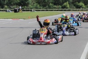 Keel won his way into the Invitational event with a victory at the Pan-Am in Mini Max (Photo: Ken Johnson - Studio52.us)