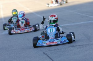 Leonardo Marseglia claimed victory in the TaG Cadet division (Photo: On Track Promotions - otp.ca)