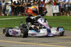 Austin Versteeg is among three RPG drivers fighting for the TaG Junior title (Photo: On Track Promotions - otp.ca)