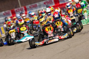 Thomas Preining earned the win in Rotax Junior, along with the first ticket to the 2014 Rotax Grand Finals (Photo: On Track Promotions - otp.ca)