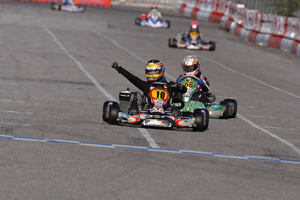 Thomas Preining reigned supreme in the inaugural running of the Rotax Junior division at the SuperNationals, giving PSL/CRG the win in the hotly contested class (PSL Karting)