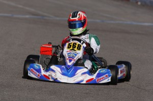 Supertune USA driver Javier Gonzalez is the SKUSA SuperNationals Vice-Champion in Rotax Junior (Photo: Supertune USA)
