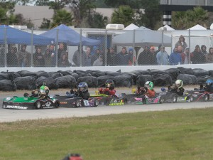 Junior 1 racers set to go racing on the Daytona limestone