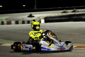 Alessio Lorandi was crowned the CIK-FIA KF Junior champion in Bahrain (press.net Images)