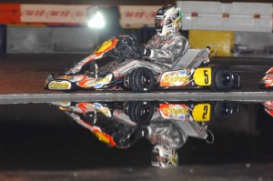 CRG factory driver Davide Fore drove to third in KZ2 under the CRG-USA tent (Photo: On Track Promotions - otp.ca)