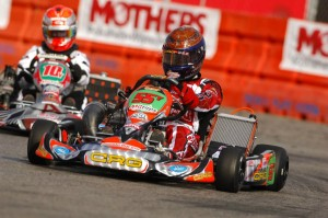 Vegas driver Matt Jaskol landed on the podium in S1, and drove from last to 21st in KZ2 with CRG-USA (Photo: On Track Promotions - otp.ca)