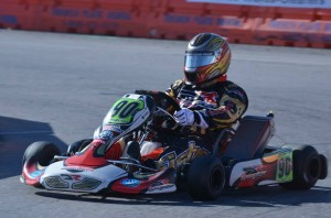 Brian Fisher drove his DR Racing Kart to a third place finish in the S4 class, ending the season second in the SKUSA Pro Tour standings (Photo: DRT Racing)