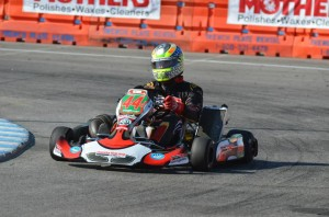 Josh Lane was impressive throughout the week in Las Vegas, only to have his S1 podium taken away after being run over (Photo: DRT Racing)