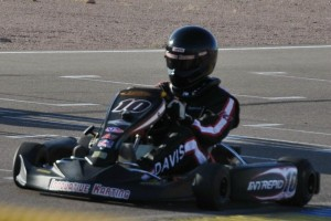 Jeremiah Davis competed at the recent 4-Cycle Super Showdown at PKRA in Arizona
