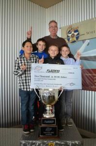 The Young Guns won the 2013 Dan Wheldon Excellence Team Championship (Photo: LAKC)