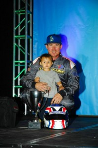 Trevor McAlister and his son enjoyed their second straight podium with Leading Edge Motorsports in S4 (On Track Promotions - otp.ca)