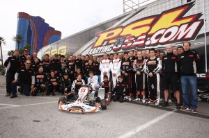 Team PSL Karting fielded 28 drivers at the 2013 SuperNats and closed out their karting season with some excellent results (Photo: PSL Karting)