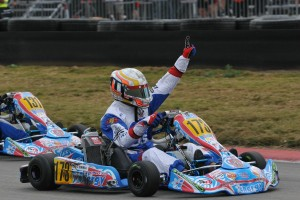 Correa drove to victory at the Rotax Grand Finals in the Junior Max division (Photo: Ken Johnson - studio52.us)
