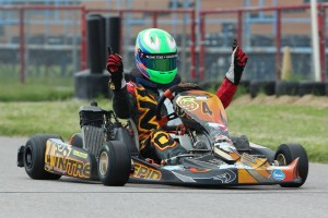 Rotax Junior champion Jesse Woodyard (Photo: dreamscaptured.net)