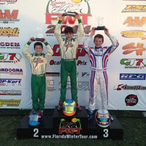 Three Team Koene USA drivers stood on the podium during the opening rounds of the 2014 Florida Winter Tour (Photo: Team Koene USA)