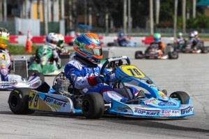 David Malukas added another win for Top Kart (Photo: Studio52.us)