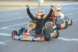 New York driver Gavin Reichelt held on to win DD2 (Photo: SeanBuur.com)