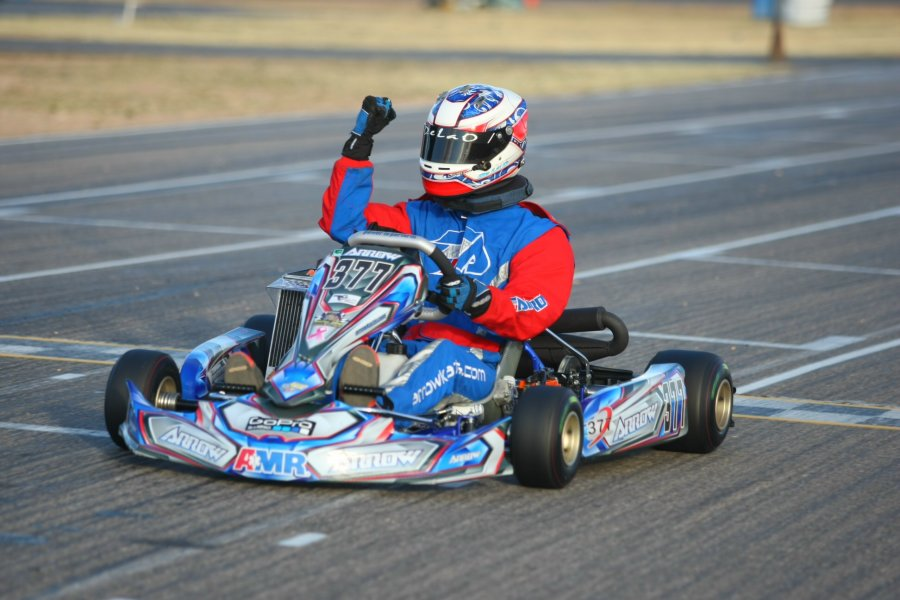 Phil DeLaO earned his first Senior Max victory at the Tucson circuit (Photo: SeanBuur.com)