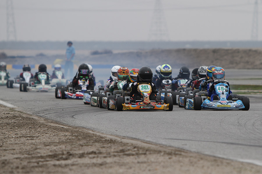 Fields for the California ProKart Challenge are expected to be stacked again for 2014 (Photo: dromophotos.com)
