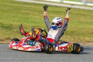 Solarcyzk scored four wins at the WKA Daytona KartWeek Manufacturers Cup event (Photo: SeanBuur.com)