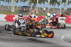 UK driver Ed Brand already has a FWT win under his belt from last weekend's 'Formula Kart' event in Homestead