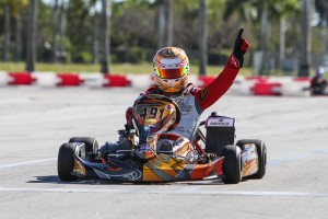 2009 Karting World Champion Arnaud Kozlinski earned his first FWT victory in DD2 (Photo: Studio52.us)