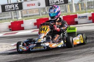 American Daniel Formal scored the Saturday pole in DD2 in his CRG Rotax debut (Photo: Studio52.us)