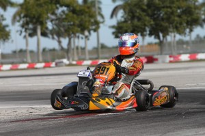 UK driver Ed Brand swept the Senior Max qualifying sessions (Photo: Studio52.us)