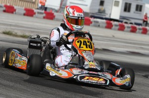 Brazilian Pedro Cardoso was among the quickest in Junior Max (Photo: Studio52.us)