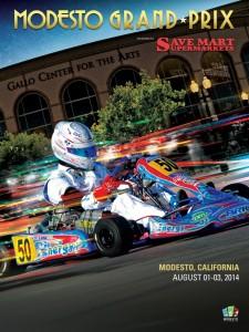 Modesto Grand Prix Poster