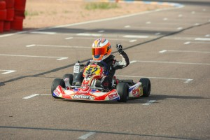 """""""Jetpak"""" Jak Crawford scores another pair of victories at the Rotax Challenge of the Americas (Photo: Sean Buur)"""